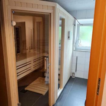 Eine Sauna nach Maß für Wohlfühlmomente im eigenen zu Hause.