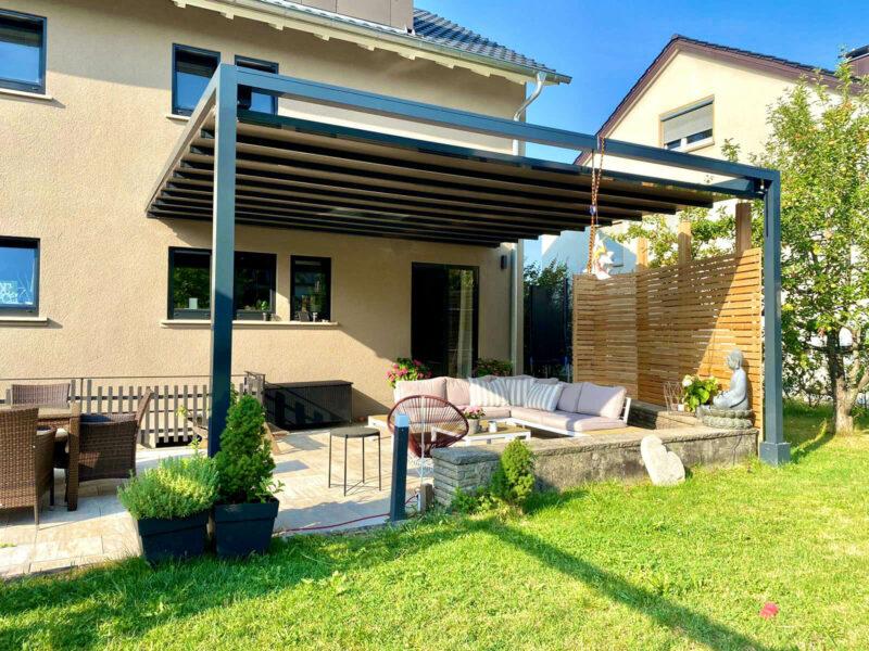 Pergolamarkise für einen perfekten Sonnenschutz Ihrer Terrasse.