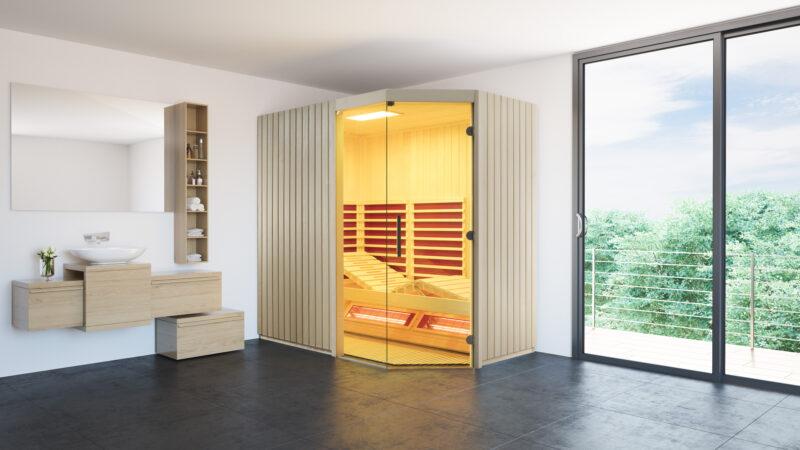 Wellness für zu Hause - mit unserer Infrarotkabine TrioSol Sera erleben Sie den Luxus in den eigenen vier Wänden.